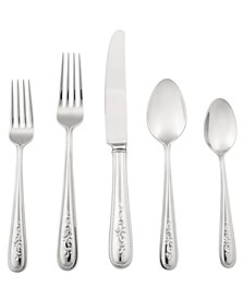 Opal Innocence 20 Pc Flatware Set, Service for 4