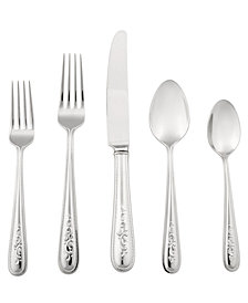 Lenox Opal Innocence 20 Pc Flatware Set, Service for 4