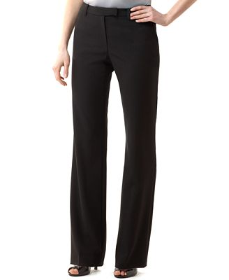 Calvin Klein Madison Stretch Dress Pants - Pants - Women - Macy's