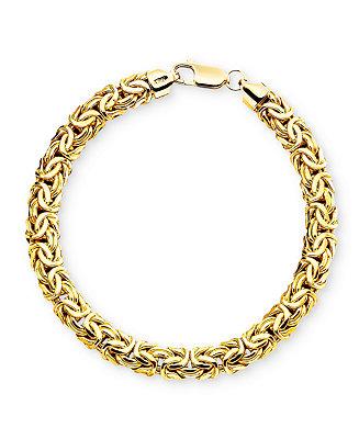 Macy S 14k Gold Byzantine Bracelet Amp Reviews Bracelets