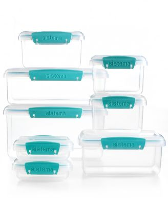 Martha Stewart Collection 16 Piece Meal Prep Container Set, Created For  Macyu0027s,