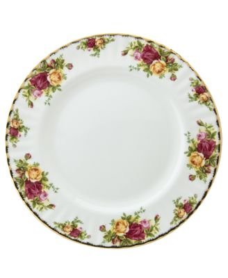 Royal Albert Old Country R..  sc 1 st  Macy\u0027s & Royal Albert Old Country Roses Dinnerware Collection - Fine China ...