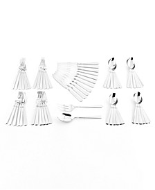 Zwilling Metrona 18/10 Stainless Steel 62-Pc. Flatware Set, Service for 12, Created for Macy's