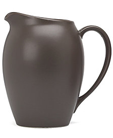 "Noritake ""Colorwave Chocolate"" Pitcher"