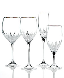 Vera Wang Wedgwood Duchesse Platinum Stemware Collection