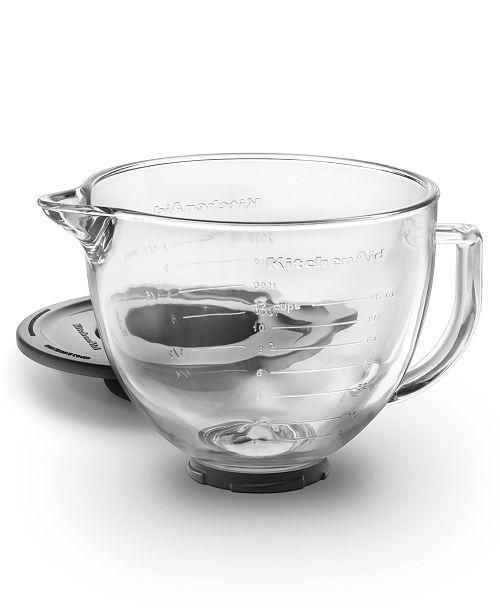 KitchenAid K5GB 5 Qt. Glass Stand Mixer Bowl - Small Appliances ...