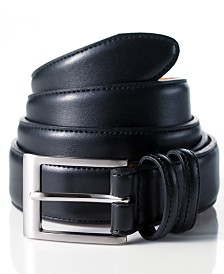 Club Room Big and Tall Leather Dress Belt