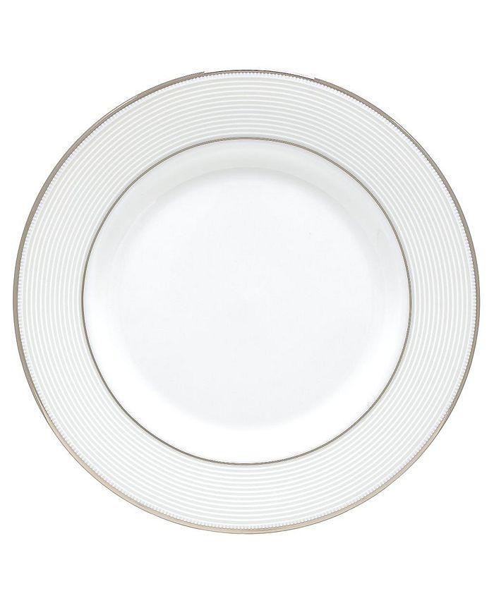 "Lenox - ""Opal Innocence Stripe"" Salad Plate"