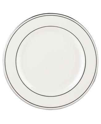"Federal Platinum 6"" Appetizer Plate"