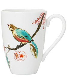Simply Fine Dinnerware, Chirp Large Mug