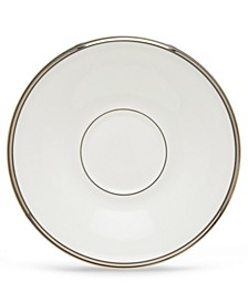 Solitaire White Saucer