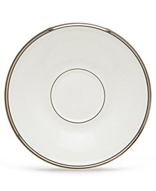 Lenox Solitaire White Saucer