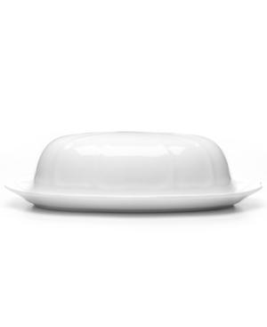 Mikasa Dinnerware, Antique White Covered Butter Dish