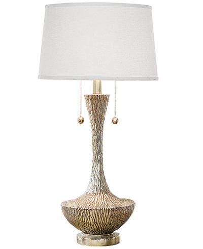 Regina Andrew Design Embossed Silver Vessel Table Lamp - Regina Andrew Design Embossed Silver Vessel Table Lamp - Lighting