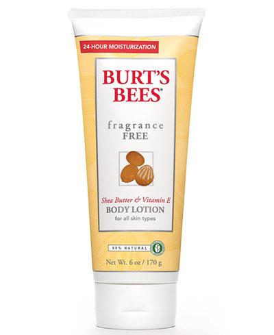 Burt's Bees Fragrance-Free Body Lotion, 6 fl. Oz.