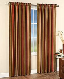 "CLOSEOUT! CHF Peri Faux Silk Stripe 42"" x 95"" Panel"