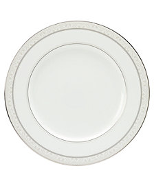 "Noritake ""Montvale Platinum"" Dinner Plate"
