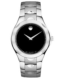 Movado Men's Swiss Stainless Steel Bracelet Watch 38mm 0606378