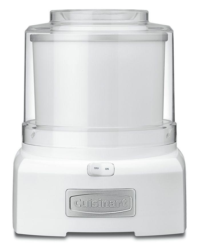 Cuisinart - ICE-21 1.5-Qt. Frozen Yogurt, Sorbet & Ice Cream Maker