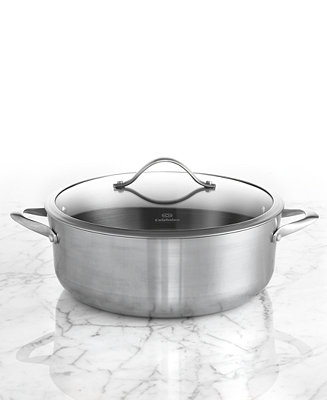 Calphalon Contemporary Stainless Steel 8 Qt Covered Dutch