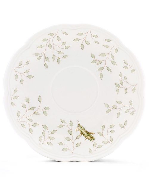 "Lenox ""Butterfly Meadow"" Saucer"