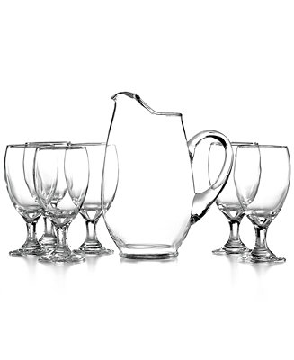 The Cellar Glassware Iced Beverage 7 Piece Set All