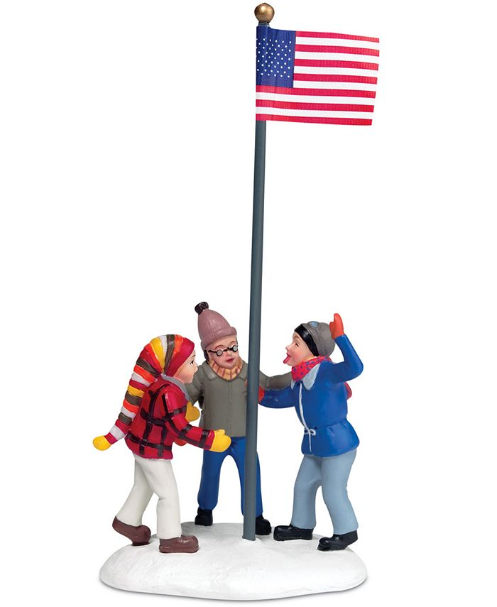 Department 56 - Collectible Figurine, A Christmas Story Village Triple Dog Dare