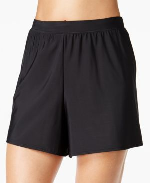 MIRACLESUIT Allover Slimming Swim Shorts Women'S Swimsuit in Black