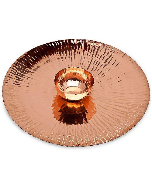 Godinger Copper Chip & Dip Set