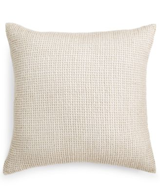 """Linen 22"""" Square Decorative Pillow, Created for Macy's"""
