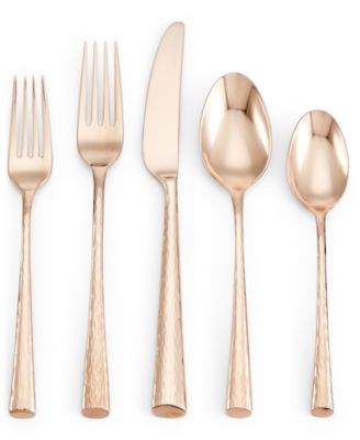 Imperial Caviar Rose Gold 5-Pc. Place Setting