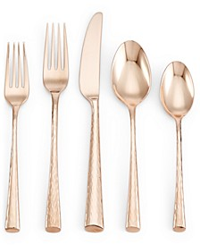 CLOSEOUT! Imperial Caviar Rose Gold 5-Pc. Place Setting