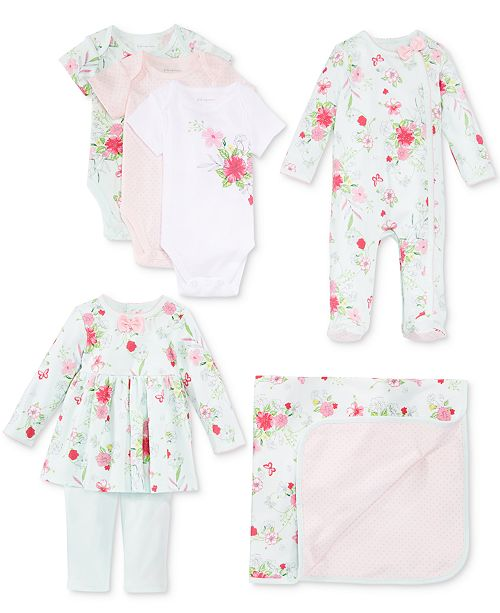 First Impressions Floral Collection, Baby Girls, Created for Macy's
