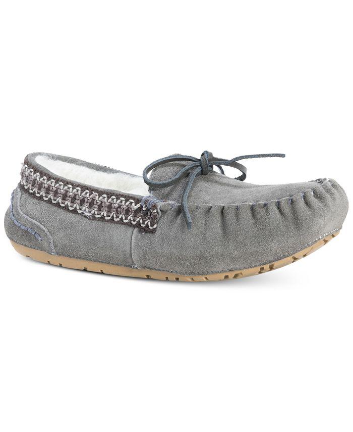 Muk Luks - Women's Jane Suede Moccasin Slippers