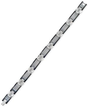 Esquire Men's Jewelry Diamond Link Bracelet (1/4