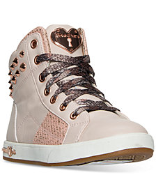 Skechers Little Girls' Shoutouts - Stud Chic Casual Sneakers from Finish Line