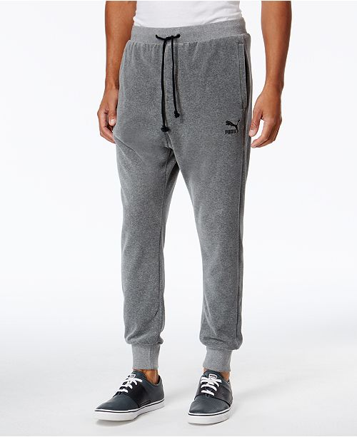 74354236e0a Puma Men s Velour T7 Track Pants   Reviews - All Activewear - Men ...