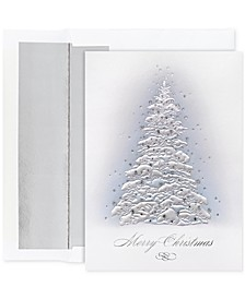 Masterpiece Studios Frosted Trees Set of 16 Boxed Greeting Cards and Envelopes