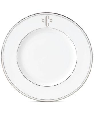 Federal Platinum Monogram Accent Plate, Block Letters