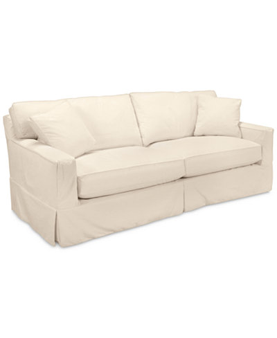 shawnee 2 seat sofa with slipcover furniture macy 39 s