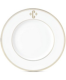 Federal Gold Monogram Accent Plate, Block Letters