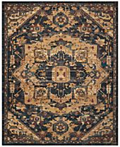Nourison 2020 NR206 Midnight Area Rugs