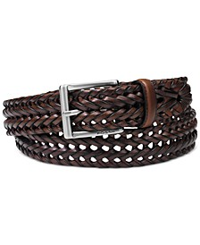 Myles Braid Leather Belt