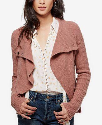 Free People Cascade Cardigan - Sweaters - Women - Macy's