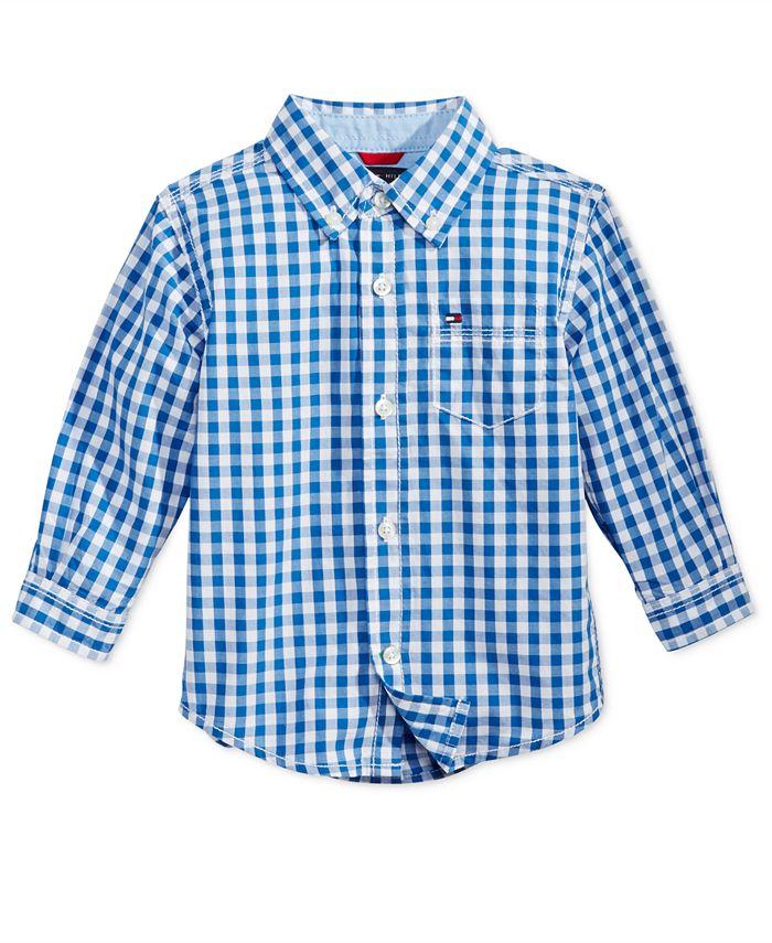 Tommy Hilfiger - Baby Boys' Baxter Plaid Shirt