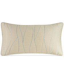 "CLOSEOUT! Hotel Collection  Ogee 14"" x 26"" Decorative Pillow, Created for Macy's"