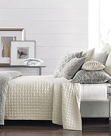 Connections Quilted Coverlet & Sham Collection, Created for Macy's