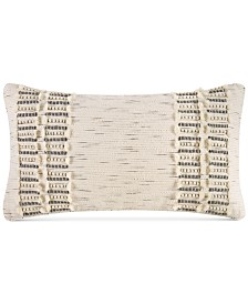 "Hotel Collection Connections 12"" x 22"" Decorative Pillow, Created for Macy's"