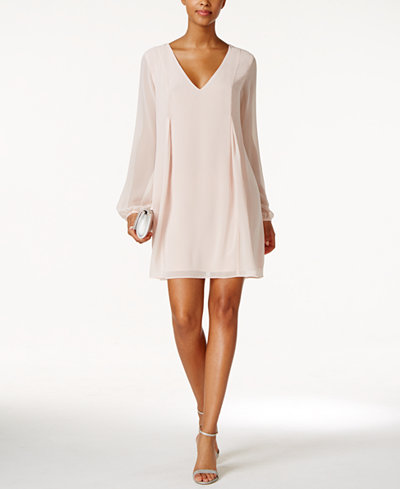 BCBGeneration Chiffon Cocktail Dress