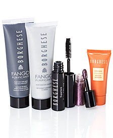 Receive a FREE 5-Pc. Clearly Radiant makeup gift with any $70 Borghese purchase